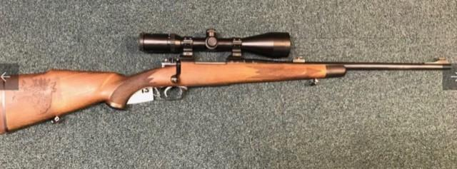Musgrave Model 90 with scope mounted
