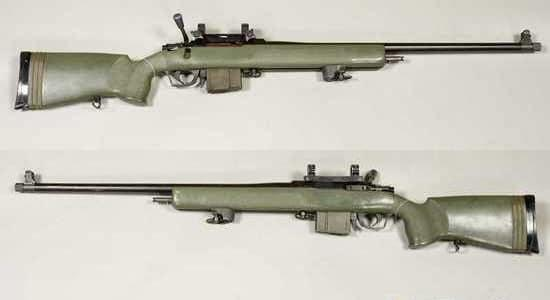 Parker-Hale M85 bolt-action sniper rifle