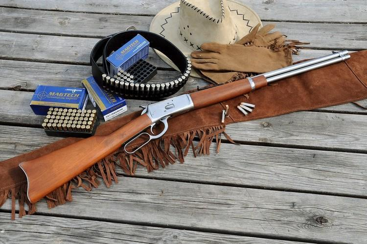 Rossi Model 92 SRC rifle is an almost identical copy of Winchester 1892 rifle