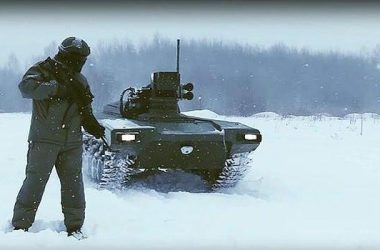 Russia unveils killer robots with deadly range more than FOUR miles