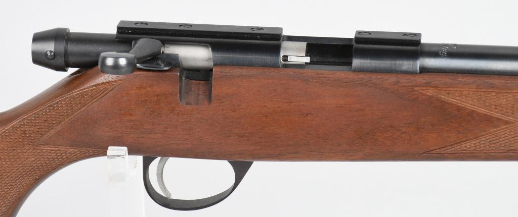SAKO P72 is rimfire bolt action rifle chambered in .22 Long Rifle RF
