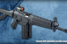 SIG SG 550 with optional second magazine