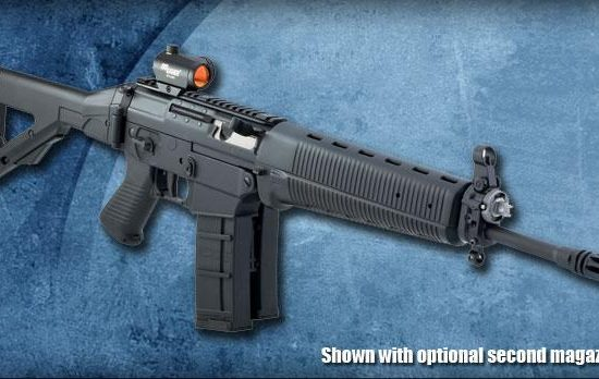 SIG SG 550: Swiss service rifle from the 1990's 3
