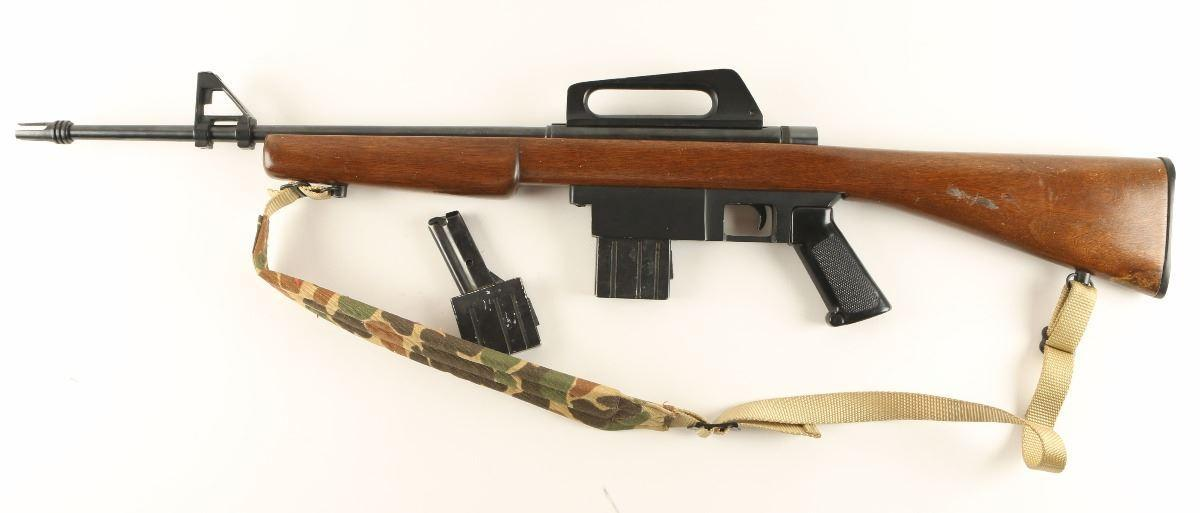 Squires Bingham M16 rifle is chambered in .22 Long Rifle RF