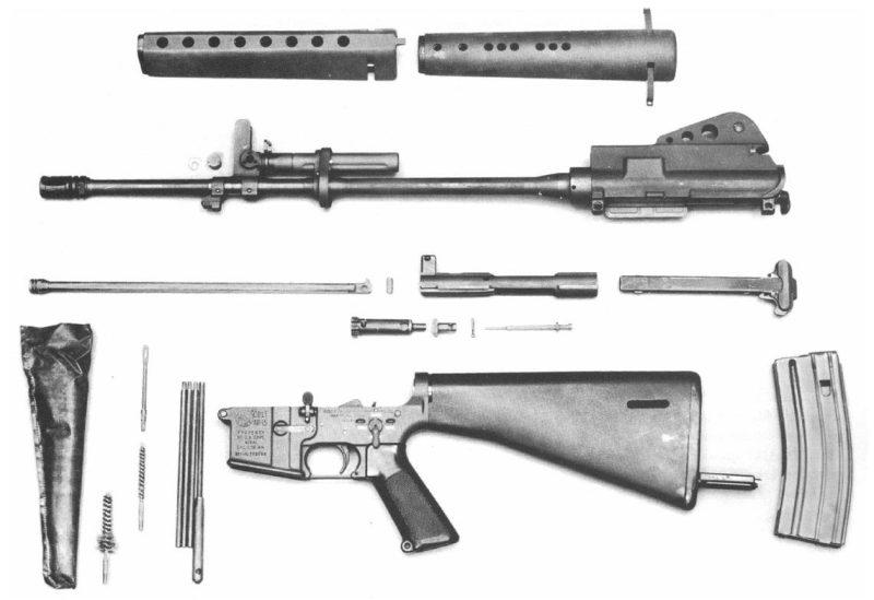 The-Black-Rifle-AR15-M16