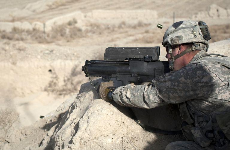 XM25 Punisher in action
