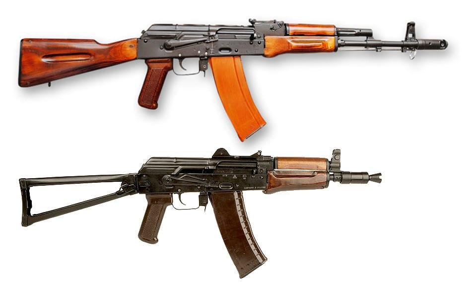 AK-74 and AKS-74U