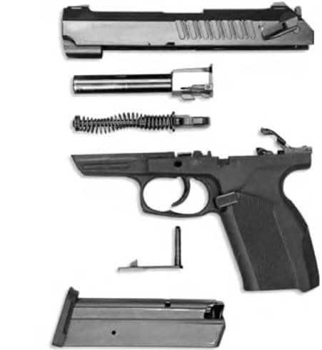 Baikal MP-444 Bagira pistol parts