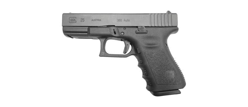 Glock 25 is a Austrian-made pistol chambered in .380 ACP