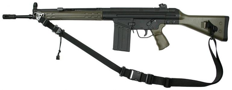 Heckler and Koch HK91 rifle