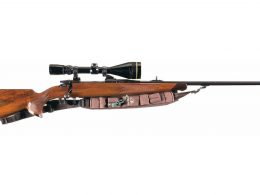 Friedrich Wilhelm Heym SR-20 bolt action rifle with scope