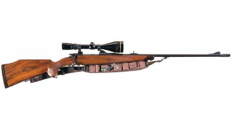 Friedrich Wilhelm Heym SR-20 bolt action rifle with scope