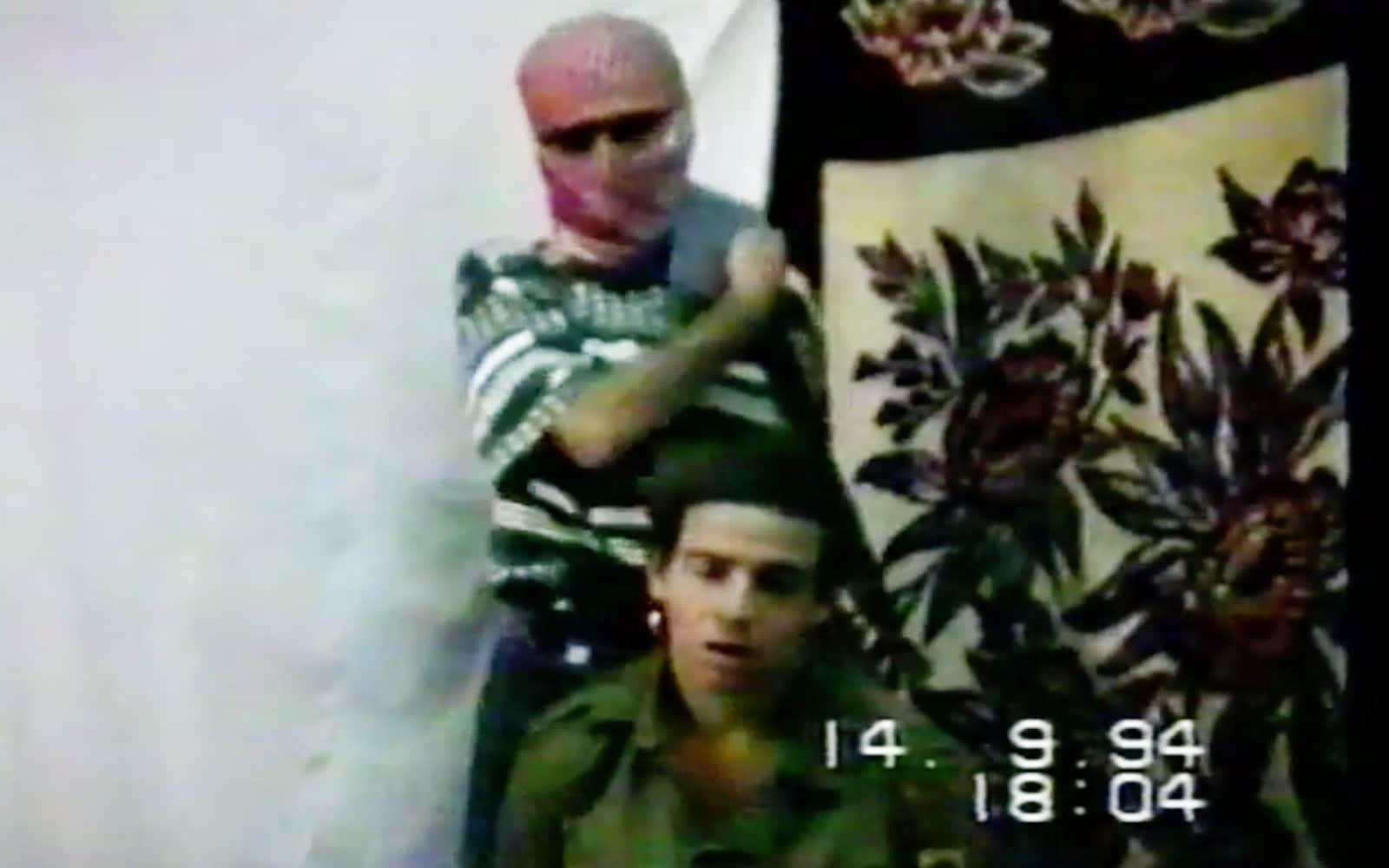 Nachshon Wachsman appeared in a ransom video message sent to the Israeli authorities by his captors