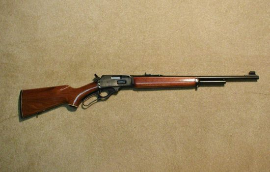 Marlin M-375 lever-action rifle