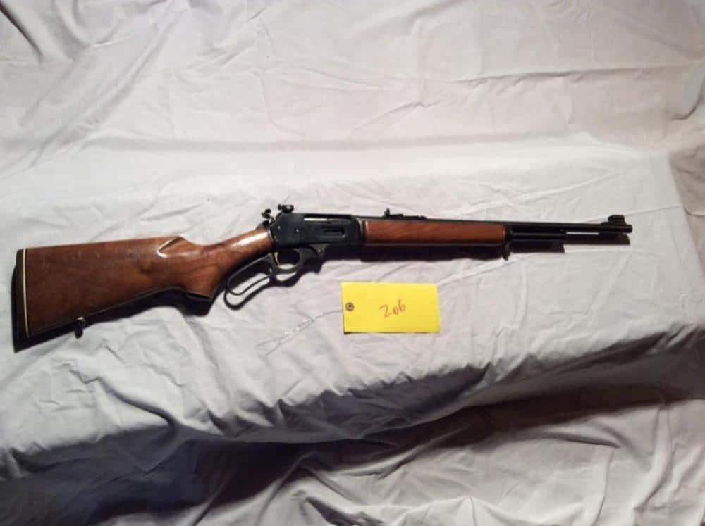 Marlin Model 375 rifle is chambered in .375 Winchester caliber
