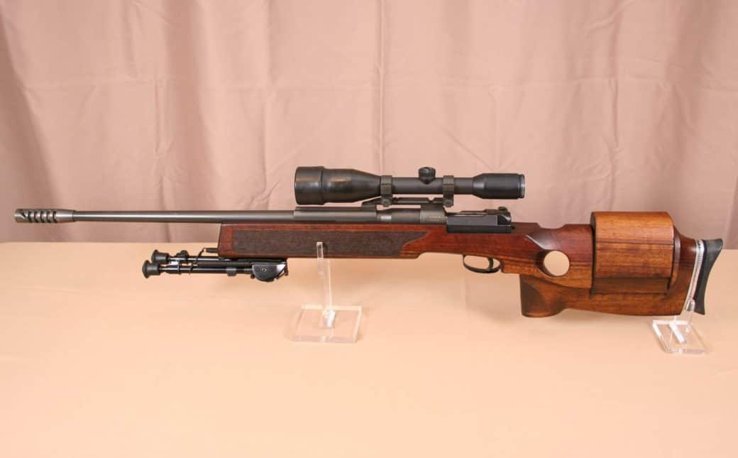 Mauser SP66 sniper rifle was chambered in .308 Winchester
