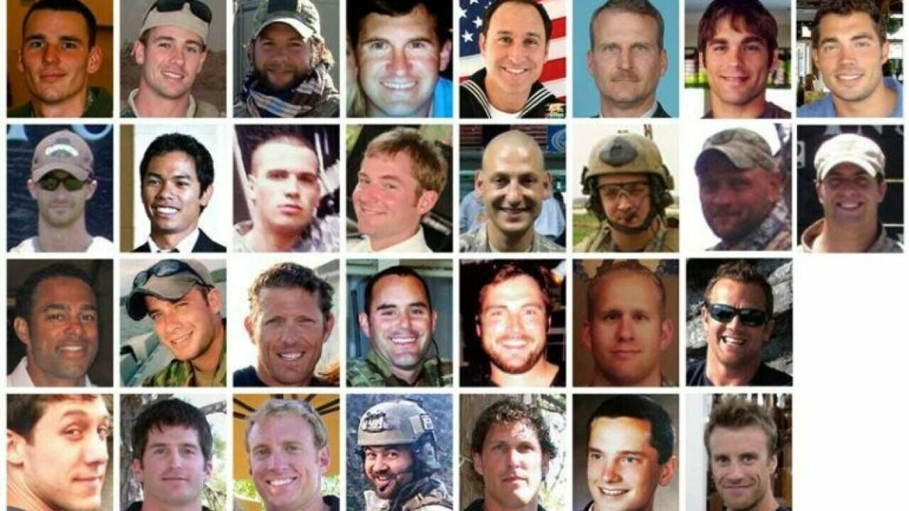 The US soldiers killed in 2011 Afghanistan Boeing Chinook shoot-down with call sign Extortion 17